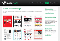 A great web design by Mailersoft, Vilnius, Lithuania: