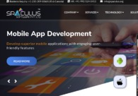 A great web design by SPACULUS SOFTWARE PRIVATE LIMITED, Vadodara, India: