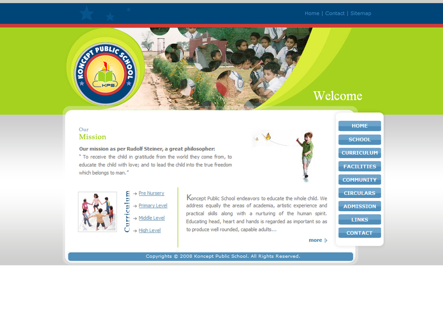 A great web design by Sagar Ranpise, Mumbai, India: