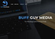 A great web design by BUFF Guy Media, New York, NY: