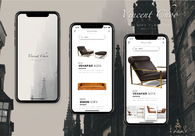 A great web design by Dalian Art Studio, Bratislava, Slovakia: Mobile App , E-Commerce , Fashion , Design Only