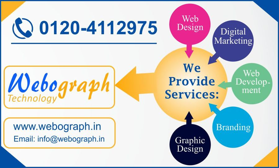 A great web design by Webograph Technology, Noida, India: