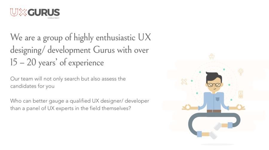 A great web design by UXGurus, Bengaluru, India: