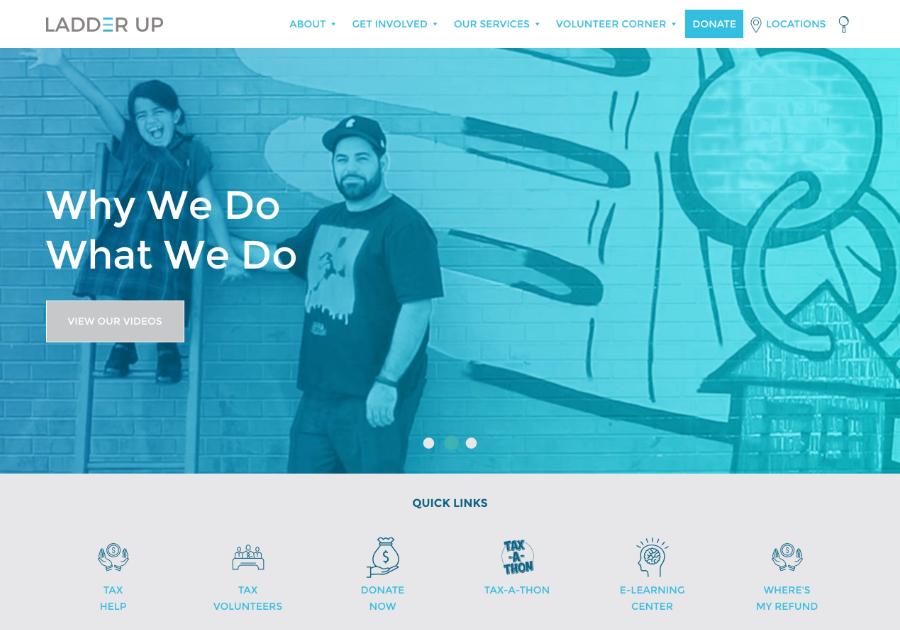 A great web design by Visual Harvest, Chicago, IL: Website, Social/Community , Non Profit , Wordpress