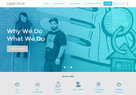 A great web design by Visual Harvest, Chicago, IL: Website, Social/Community , Non Profit , Wordpress