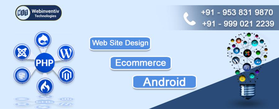 A great web design by Webinventiv Technologies, Noida, India: