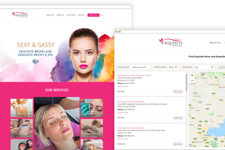 A great web design by SEMO Creative Inc., Calgary, Canada: