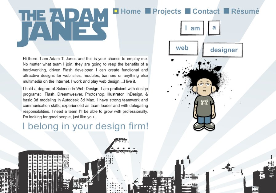 A great web design by TheAdamJanes.com, Cleveland, OH: