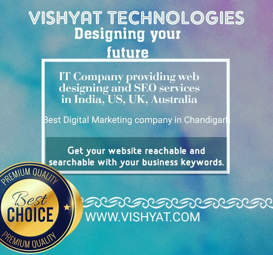 A great web design by Vishyat Technologies - SEO SERVICES COMPANY IN CHANDIGARH, Chandigarh, India: