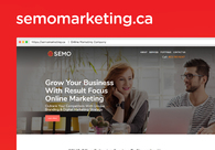 A great web design by SEMO Creative Inc, Calgary, Canada: