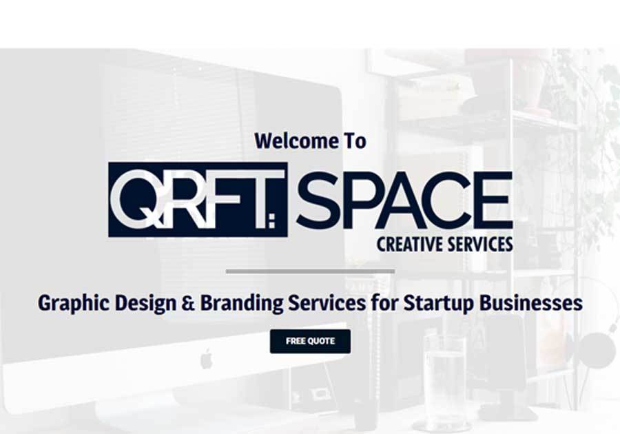 A great web design by QRFT SPACE: Branding for startups, Oklahoma City, OK: