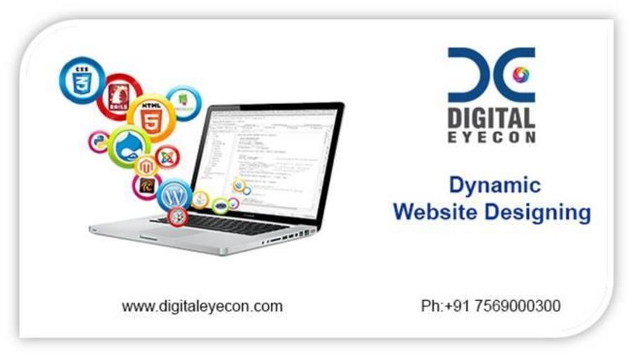 A great web design by Digital Eyecon Pvt. Ltd., Hyderabad, India: