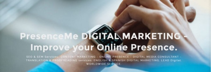 A great web design by PresenceMe Digital Marketing , Seville, Spain: Website, Marketing Website , Marketing , Other