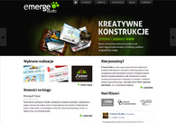 A great web design by Emerge Studio, Katowice, Poland: