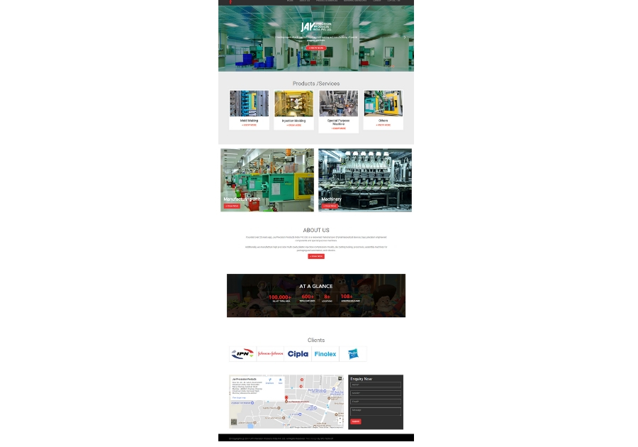 A great web design by SPG Techsoft, Mumbai, India: Responsive Website, Other, Manufacturing , Static HTML