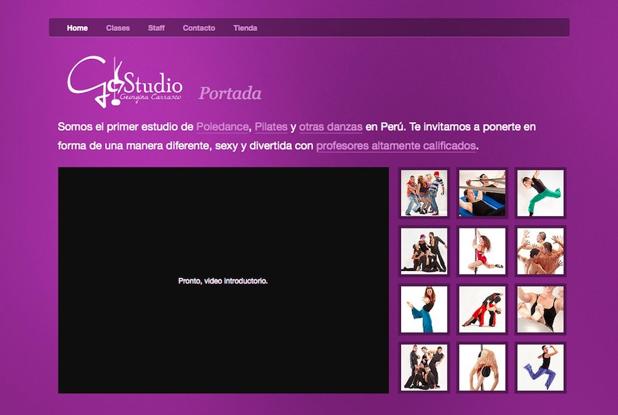 A great web design by Rolando Murillo, Lima, Peru: