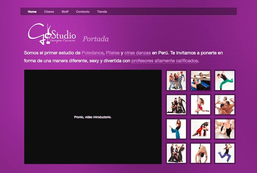 A great web design by Rolando Murillo, Lima, Peru: