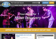 A great web design by Red Kite Creative LLC, Fort Collins, CO: Responsive Website, Marketing Website , Entertainment , Wordpress