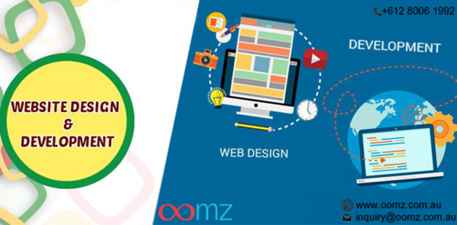 A great web design by Oomz, Sydney, Australia: