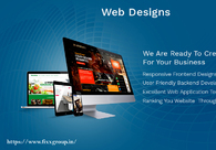 A great web design by FixxGroup, Bengaluru, India: