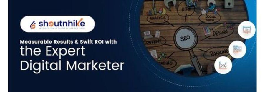 A great web design by ShoutnHike - SEO, Digital Marketing Company in Ahmedabad, India, Ahmedabad, India: