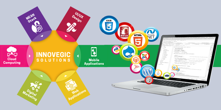 A great web design by Innovegic Solutions, Ahmedabad, India: Website, Web Application