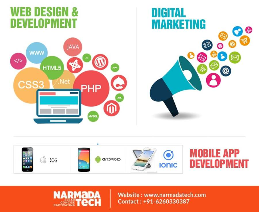 A great web design by Narmada Tech Solutions Pvt. Ltd., Los Angeles, CA: