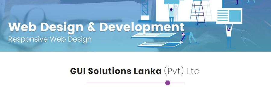 A great web design by GUI Solutions Sri Lanka, Kadawata, Sri Lanka: