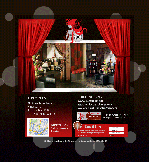 A great web design by DCGraphics, Atlanta, GA: