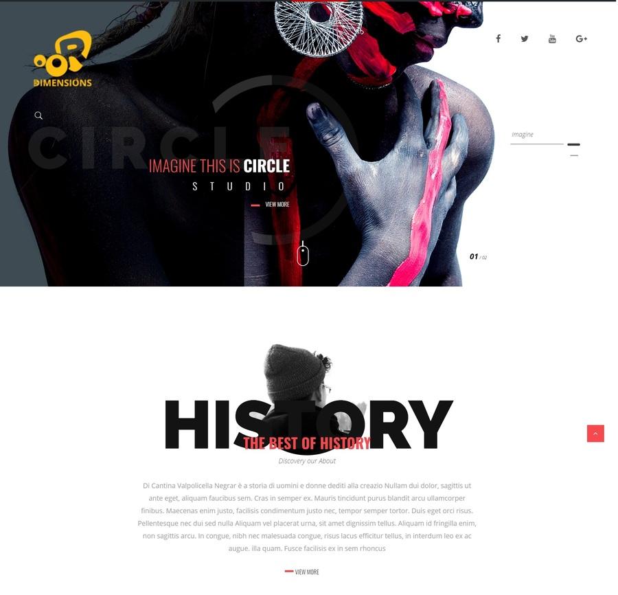 A great web design by Hoho Media Agency, Delhi, India: