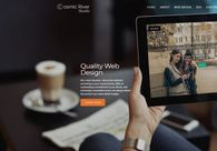 A great web design by Cosmic River Studio, New York, NY:
