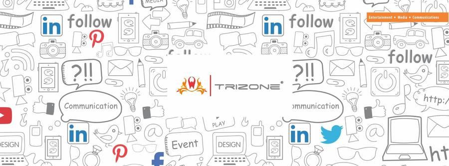 A great web design by Trizone Entertainment Pvt. Ltd, Vadodara, India: