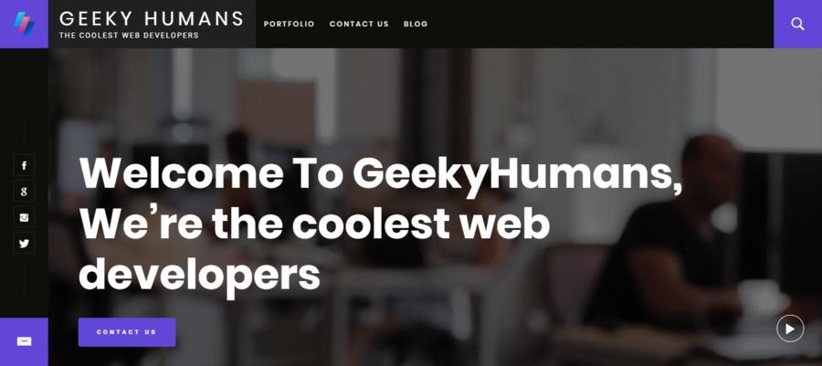 A great web design by Vyom Srivastava, New York, NY: