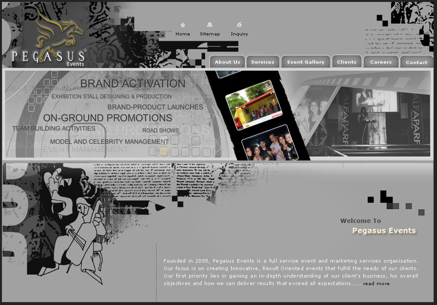 A great web design by SmartFish Designs Pvt. Ltd., Ahmedabad, India: