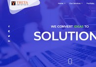 A great web design by Treta Infotech, Surat, India: