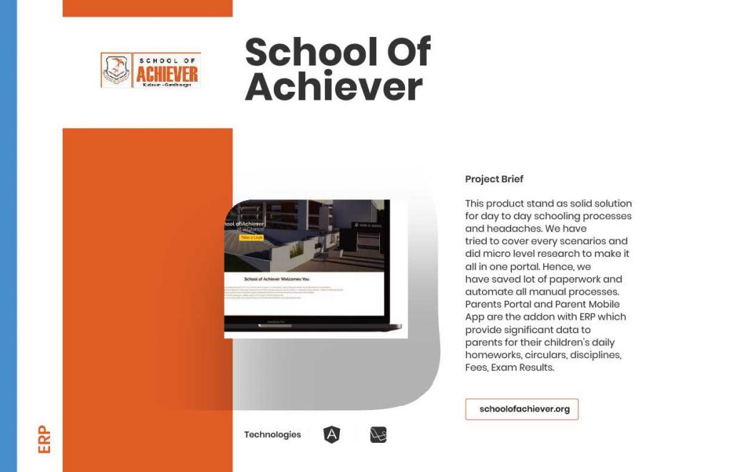A great web design by HourlyDeveloper.io, Ahmedabad, India: Education