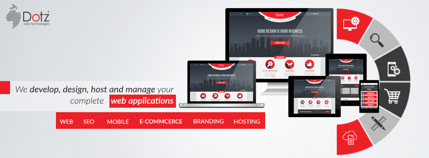 A great web design by Dotz Web Technologies, Kochi, India: