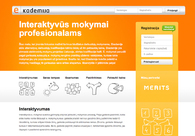 A great web design by Mediapark, Vilnius, Lithuania: