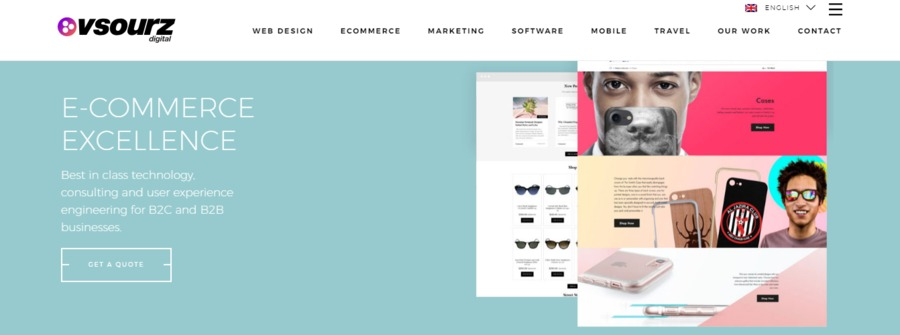A great web design by Vsourz Limited, Harrow, United Kingdom: