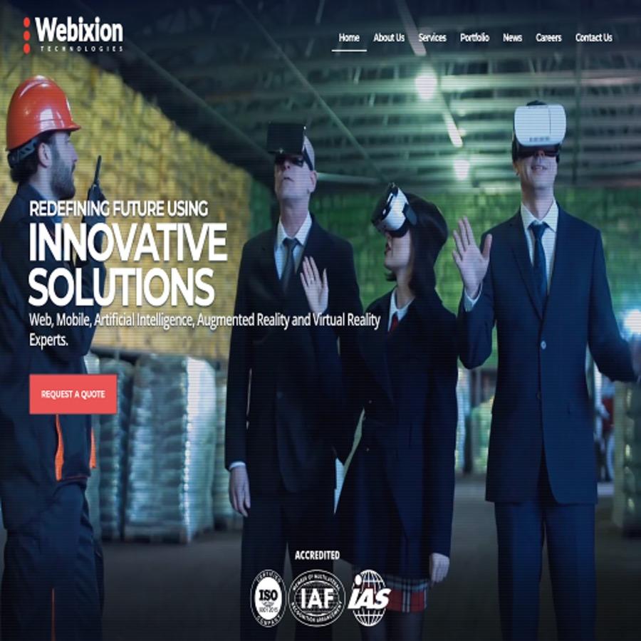 A great web design by Webixion Technologies Pvt Ltd, Visakhapatnam, India: Website, E-Commerce , Technology , Wordpress