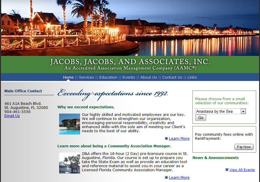 A great web design by Atlas Design Solutions, Jacksonville, FL: