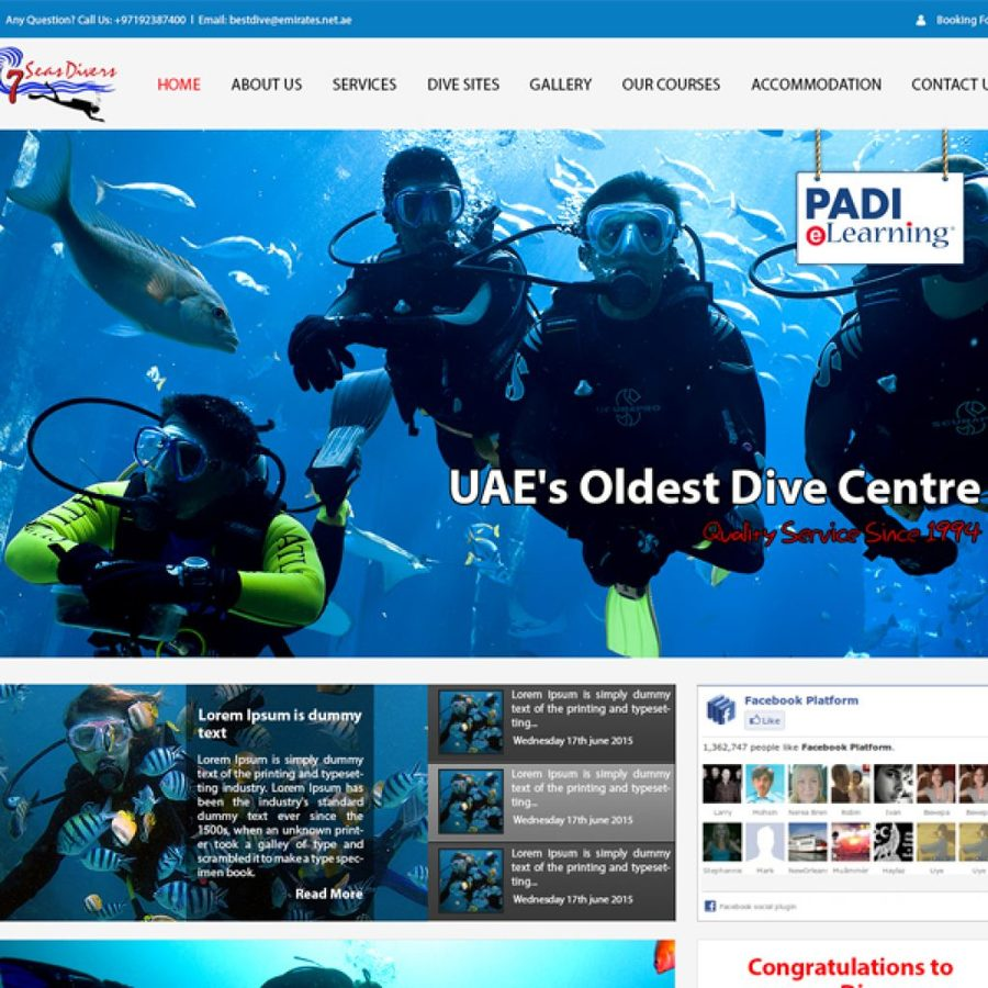 A great web design by Wisdom IT Solutions, Dubai, United Arab Emirates: Website, Web Application , Service