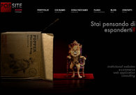 A great web design by POPSITE web design studio, Rome, Italy:
