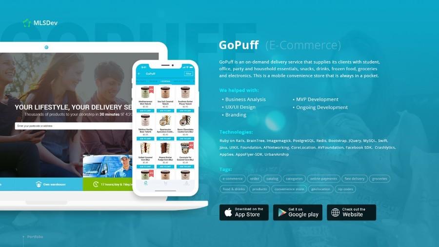 A great web design by MLSDev, Kyiv, Ukraine: E-Commerce