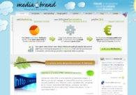 A great web design by Mediabrand: