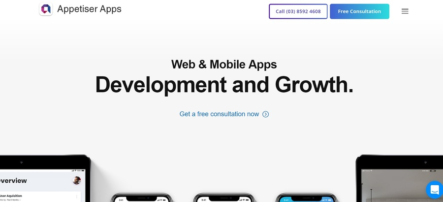 A great web design by Appetiser, Melbourne, Australia: