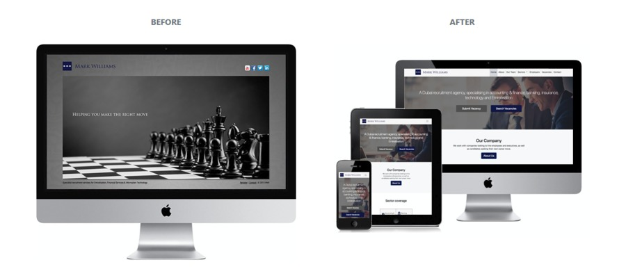 A great web design by The Watchtower, Dubai, United Arab Emirates: