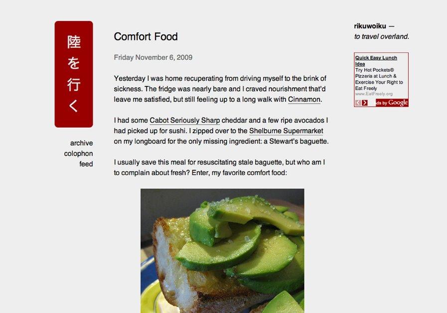 A great web design by makkintosshu, Burlington, VT: