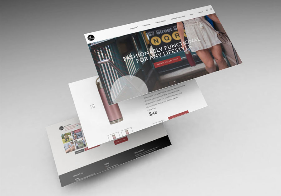 A great web design by Honey + Hare, Owensboro, KY: