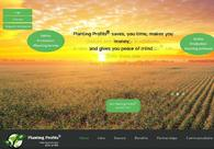 A great web design by Decipher Zone Softwares, Jaipur, India: Responsive Website, Web Application , Agriculture , JSP